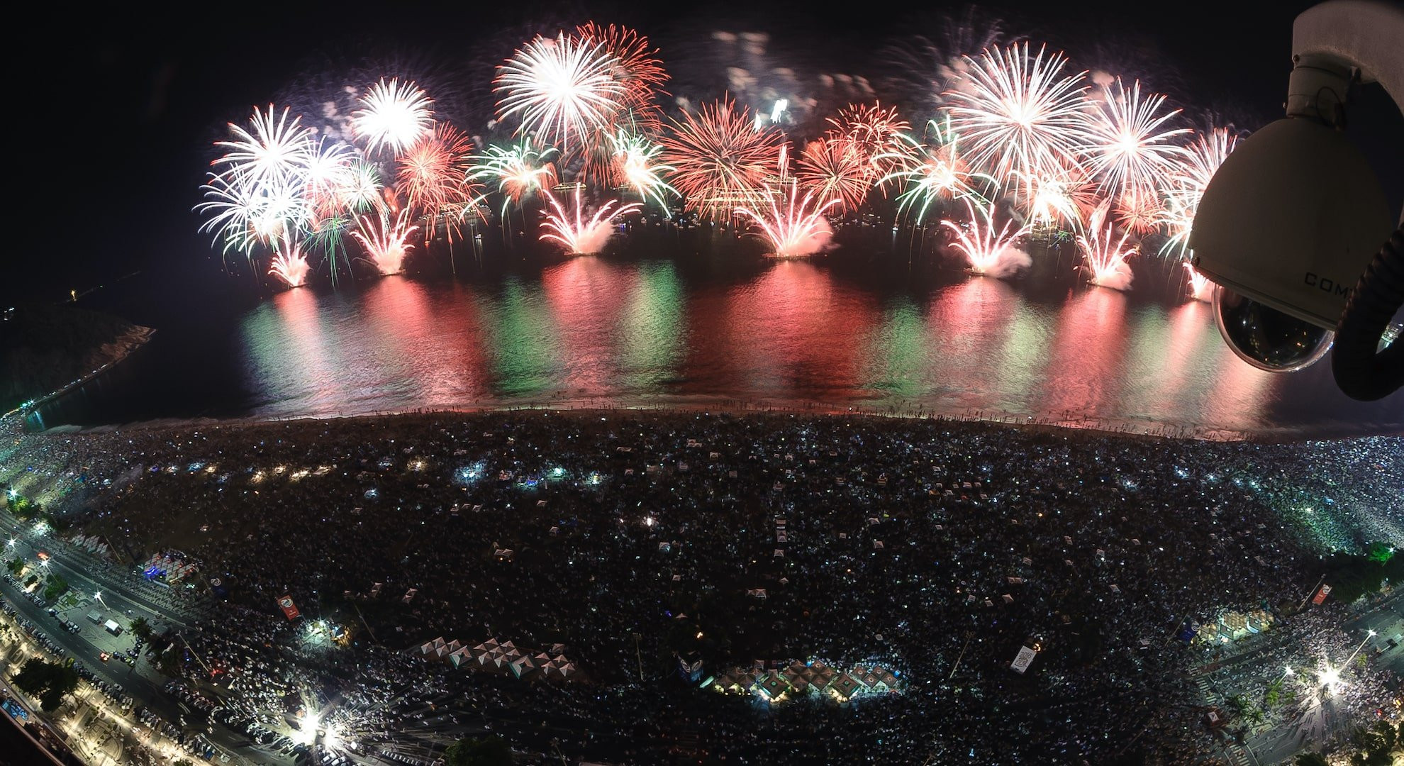 New Year celebrations in Rio